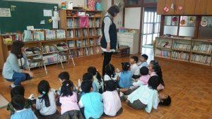鹽竈カトリック幼稚園でのHana先生のレッスン